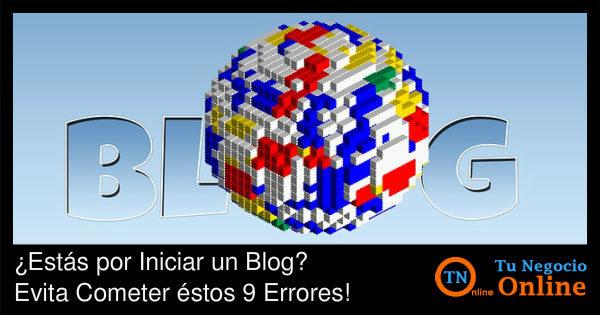 Como Crear un Blog - Evitar Errores