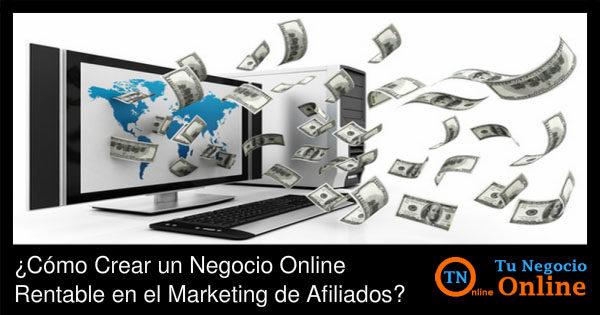 Negocio Online Rentable en el Marketing de Afiliados