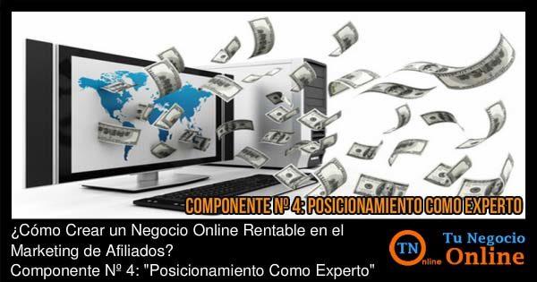 Negocio Online Rentable Marketing de Afiliados, Posicionamiento como Experto