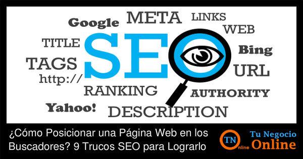 Como Posicionar una Página Web - Trucos SEO